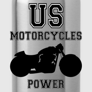 us motorcycles power Pullover & Hoodies - Trinkflasche