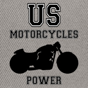 us motorcycles power Sweat-shirts - Casquette snapback