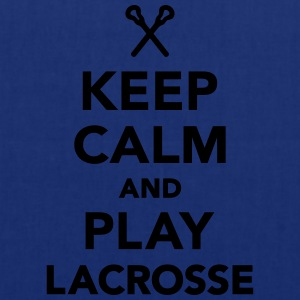 Keep calm and play Lacrosse T-Shirts - Stoffbeutel