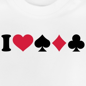 I love Poker T-Shirts - Baby T-Shirt