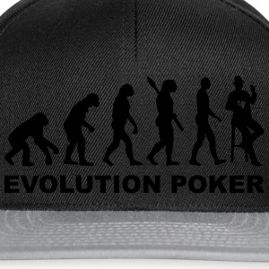 Evolution Poker T-Shirts - Snapback Cap