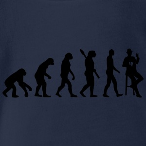 Evolution Poker T-Shirts - Baby Bio-Kurzarm-Body