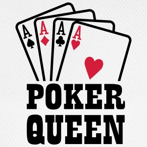 Poker Queen T-Shirts - Baseballkappe