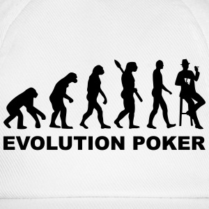 Evolution Poker Flaschen & Tassen - Baseballkappe