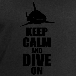 keep calm dive on shark Shirt T-Shirts - Männer Sweatshirt von Stanley & Stella