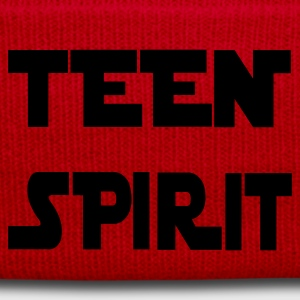 Rot TEEN SPIRIT by COPYTHAT23 Girlie - Wintermütze