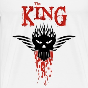 The King - T-shirt Premium Homme