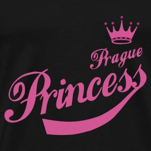 Prague Princess - Männer Premium T-Shirt