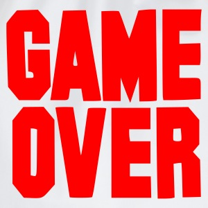 Blanco Game Over / On Camisetas (manga corta) - Mochila saco