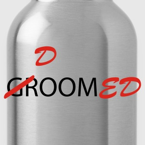 Olive Groom / Doomed (wedding, groom, groom to be, stag  party, honeymoon) T-Shirts - Water Bottle