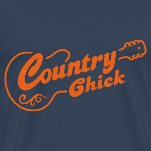 COUNTRY CHICK - Männer Premium T-Shirt