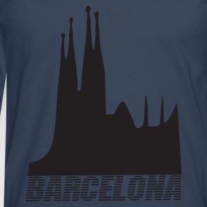 Petrol Barcelona - Spain Tops - Men's Premium Longsleeve Shirt