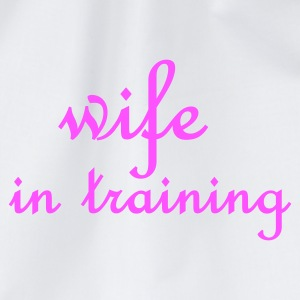 Wit Wife in Training (bruiloft, wedding, hochzeit) Tops - Gymtas