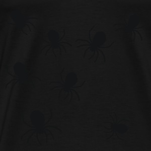 Oliven Spider - Insect - Horror - Halloween - Carnaval T-shirts - Herre premium T-shirt
