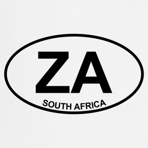 White ZA South Africa Tops - Cooking Apron