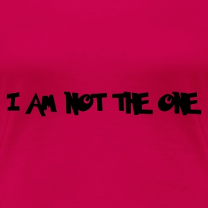 Pink I Am Not The One, Zimbabwe Tops - Women's Premium T-Shirt