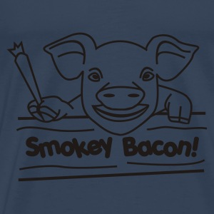 Smokey Bacon  - Men's Premium T-Shirt