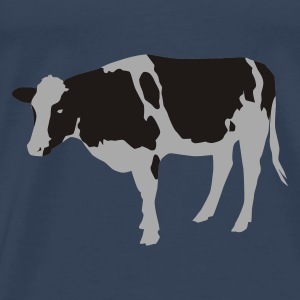 Sky blue cow Tops - Men's Premium T-Shirt