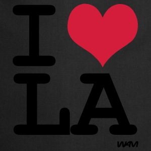 Sort i love los angeles - LA by wam Toppe - Forklæde