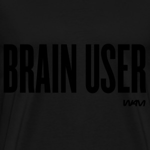 Nero brain user by wam Top - Maglietta Premium da uomo