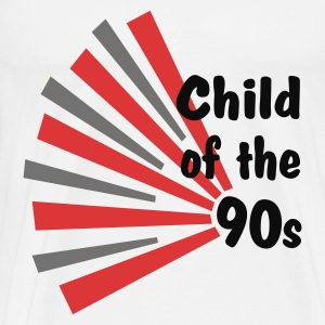 White Child of the 90s Tops - Men's Premium T-Shirt