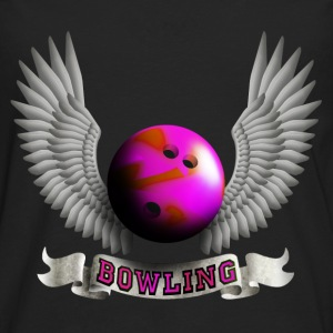 bowling_wings_b Tops - Men's Premium Longsleeve Shirt