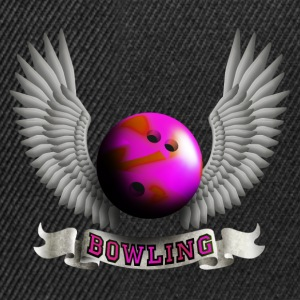 bowling_wings_b Tops - Snapback Cap