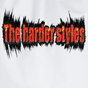 Wit the harder style, hardstyle T-shirts - Gymtas