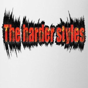 Wit the harder style, hardstyle T-shirts - Mok