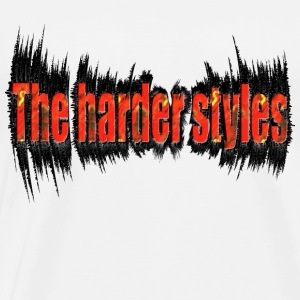 Wit the harder style, hardstyle T-shirts - Mannen Premium T-shirt
