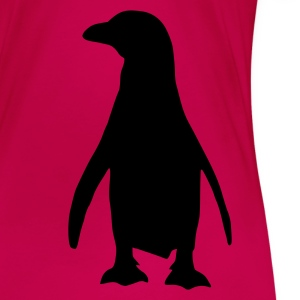 Pink Pinguin Tops - Frauen Premium T-Shirt