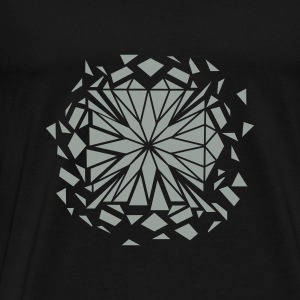 Schwarz Diamonds Aren't Forever Tops - Männer Premium T-Shirt