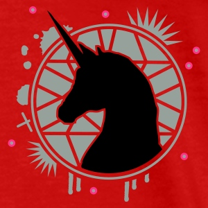Red The mirror of the unicorn Tops - Men's Premium T-Shirt