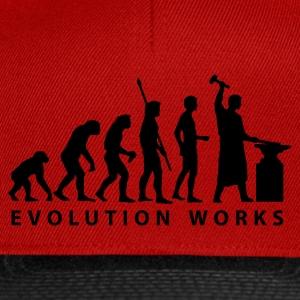 evolution_schmied Shirts - Snapback Cap