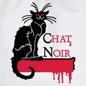 Wit chat noir vampire (2c) Tops - Gymtas