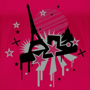 Pink paris Tops - Women's Premium T-Shirt