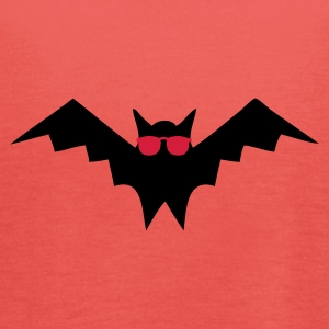 Goudoranje Blind as a Bat T-shirts - Vrouwen tank top van Bella