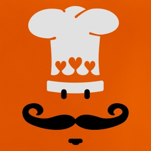 Orange kok kok / chef cook (2c) Børne T-shirts - Baby T-shirt