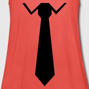 Orange Krawatte Kinder T-Shirts - Frauen Tank Top von Bella