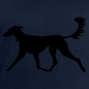 Petrol Windhund / greyhound (1c) Tops - Men's Sweatshirt by Stanley & Stella