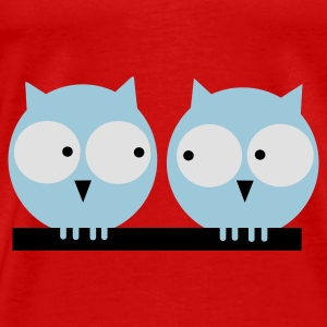 Red owl 5 Tops - Men's Premium T-Shirt