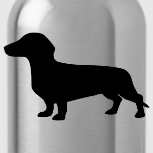 Rot Dackel - Hund Tops - Trinkflasche