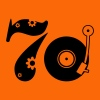 Golden orange Seventies 70 Men's T-Shirts - Women's Premium T-Shirt