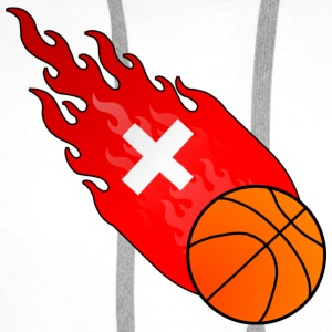 Fireball Basketball Switzerland - Men's Premium Hoodie