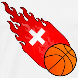 Fireball Basketball Switzerland - Men's Premium T-Shirt