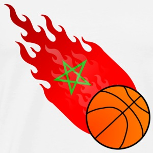 Fireball Basketball Morocco - Men's Premium T-Shirt