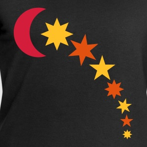 Black moon and stars Tops - Men's Sweatshirt by Stanley & Stella