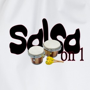 salsa_on_1_edited T-Shirts - Drawstring Bag