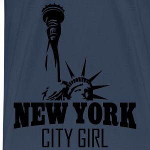 NEW YORK CITY GIRL Tops - Männer Premium T-Shirt