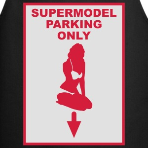 Supermodel parking only - Förkläde